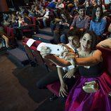 """El """"selfie"""" de Antonio Díaz y Ruth Lorenzo en la presentación de 'El Mago Pop'"""