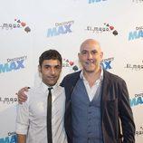 Antonio Díaz y Fernando Jerez en la presentación de 'El Mago Pop'