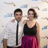 Antonio Díaz y Ruth Lorenzo en la presentación de 'El Mago Pop'