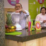Mauricio, Osvaldo y Soraya en Yugo-Yugo en 'Aída'