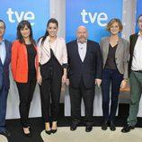 El equipo de TVE en Eurovisión