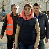 Hiba Abouk llora en
