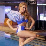 Laura Manzanedo en bañador en '¡Mira quién salta!'