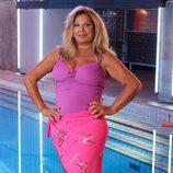 Olivia Valére, concursante de la segunda edición de '¡Mira quién salta!'