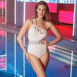 Andrea Huisgen, concursante de la segunda edición de '¡Mira quién salta!'