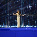 Ruth Lorenzo durante el segundo ensayo de Eurovisión 2014