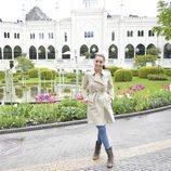 Ruth Lorenzo visita el parque de atracciones Tívoli en Copenhague
