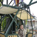 Ruth Lorenzo se monta en la noria del Tívoli