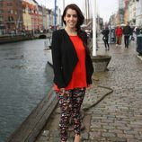 Ruth Lorenzo en Nyhavn en Copenhague