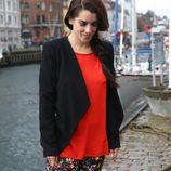 Ruth Lorenzo paseando por el Nyhavn de Copenhague