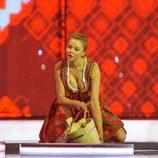 Una de las bailarinas polacas se muestra sugerente en Eurovisión 2014