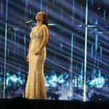 Ruth Lorenzo, con nuevo vestido en Eurovisión 2014