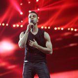 Kállay Saunders en los ensayos de la Final de Eurovisión 2014