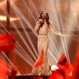 Conchita Wurst (Austria) en la Final de Eurovisión 2014