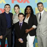 Octavia Spencer, Dave Annable y el resto del reparto de 'Red Band Society' en los Upfronts 2014 de Fox