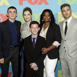 Octavia Spencer, Dave Annable y el resto del reparto de 'Red Band Society' en los Upfronts 2014 de Fox