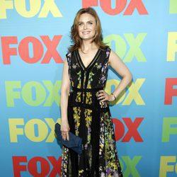 Emily Deschanel en los Upfronts 2014 de Fox