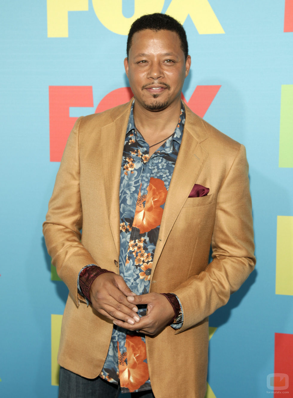 Terrence Howard en los Upfronts 2014 de Fox