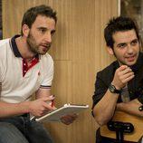 Mario y Juan durante una de las reuniones de 'Byb'
