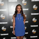 Aja King en los Upfronts 2014 de ABC