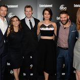El reparto de 'Scandal' en los Upfronts 2014 de ABC