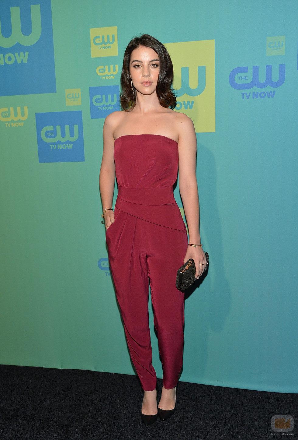 Adelaide Kane ('Reign') en los Upfronts 2014 de The CW