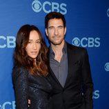 Maggie Q y Dylan McDermott presentan 'Stalker' en los Upfronts 2014 de CBS