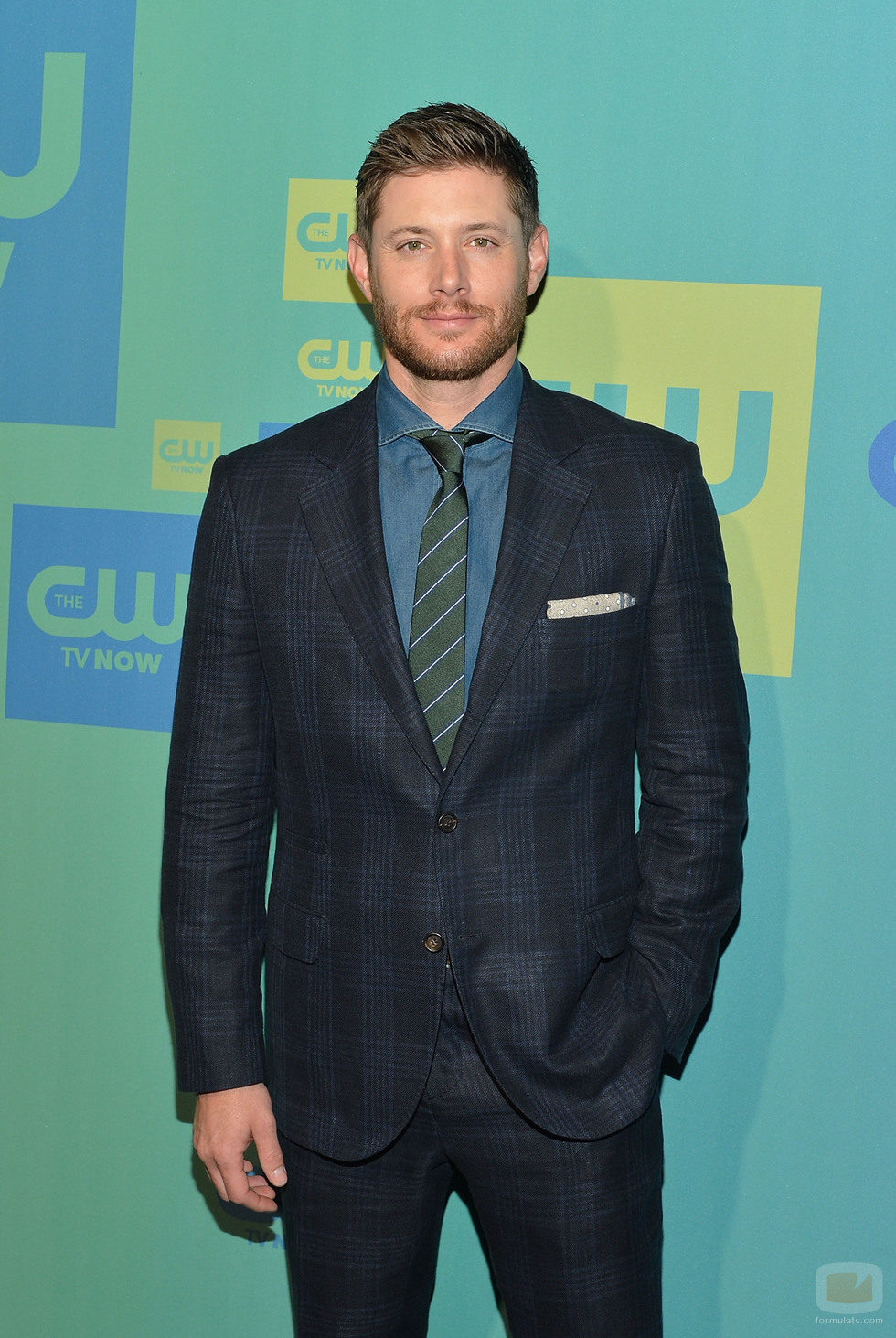 Jensen Ackles ('Supernatural') en los Upfronts 2014 de The CW