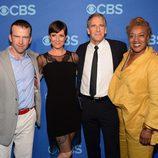 Scott Bakula y el resto del reparto de 'NCIS: New Orleans' en los Upfronts 2014 de CBS
