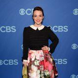 Renee Felice Smith ('NCIS: Los Ángeles) en los Upfronts 2014 de CBS