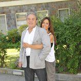 Lydia Bosch y Tito Valverde en la rueda de prensa de 'Sin identidad'