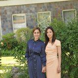 Megan Montaner y Verónica Sánchez en la rueda de prensa de 'Sin identidad'