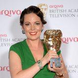 Olivia Colman recoge el BAFTA 2014 por su papel en 'Broadchurch'