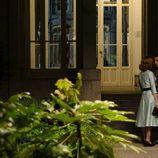 Manuela Velasco y Miguel Ángel Silvestre a pocas horas de su boda en 'Velvet'