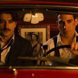 Miguel Ángel Silvestre y Javier Rey en 'Velvet'