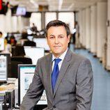 José Ribagorda, presentador de 'Informativos Telecinco'