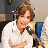 """Mamen Mendízabal en el programa de radio de Melodía FM, """"Lo mejor que te puede pasar"""""""