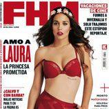 Laura Pajero ('Un príncipe para Laura') en la portada de junio de FHM