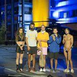 Los cuatro finalistas de 'Supervivientes 2014' recién llegados a Madrid