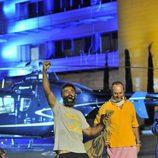 Rafa Lomana celebra la victoria frente a Nacho Montes