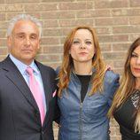 Diego Suárez, Lidia Fuentes y Lorena Morlote de 'Millonario anónimo'
