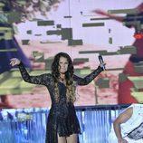 "Kátia Aveiro interpretó su hit ""Boom sem parar"" en la final de 'Supervivientes 2014'"