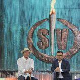 Amador Mohedano durante su entrevista en 'Supervivientes 2014'