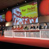 Altos cargos de Mediaset España presentaron la cobertura del Mundial de Brasil