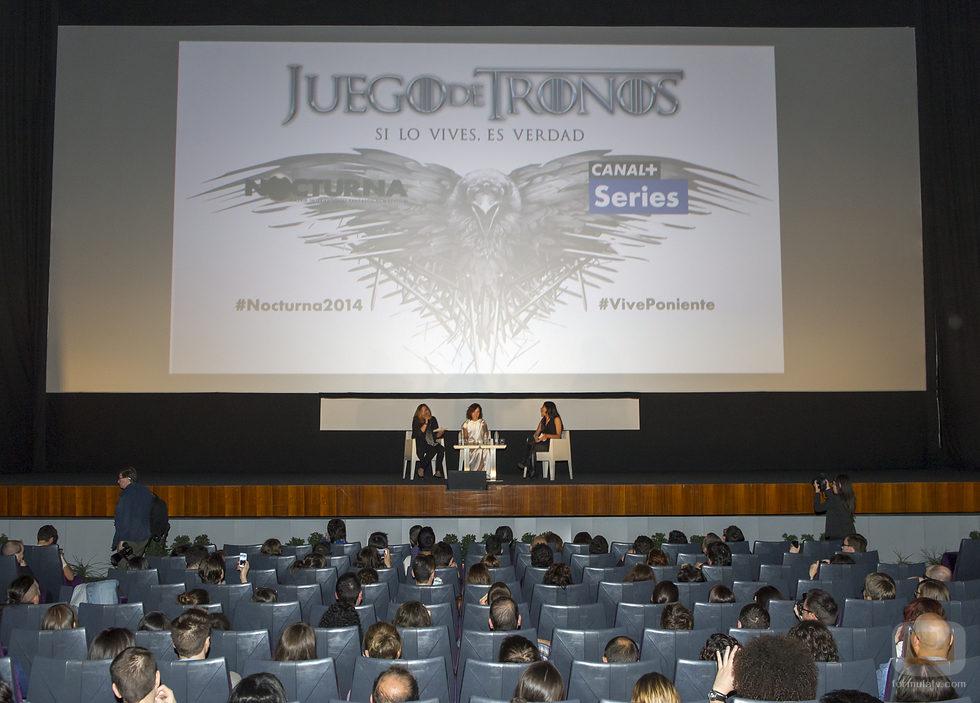 Numerosos fans asistieron al evento de 'Juego de Tronos' del Nocturna Festival con Sibel Kekilli