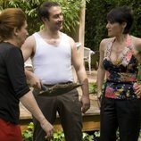 Chiqui Fernández, Daniel Albadalejo y Anabel Alonso en 'La familia Mata'