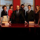 Javier Cámara y el resto del equipo de 'Lex'