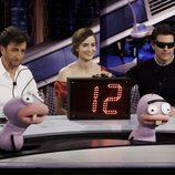 Tom Cruise y Emily Blunt junto a Pablo Motos