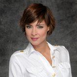 Sandra Barneda posando para 'De buena ley'