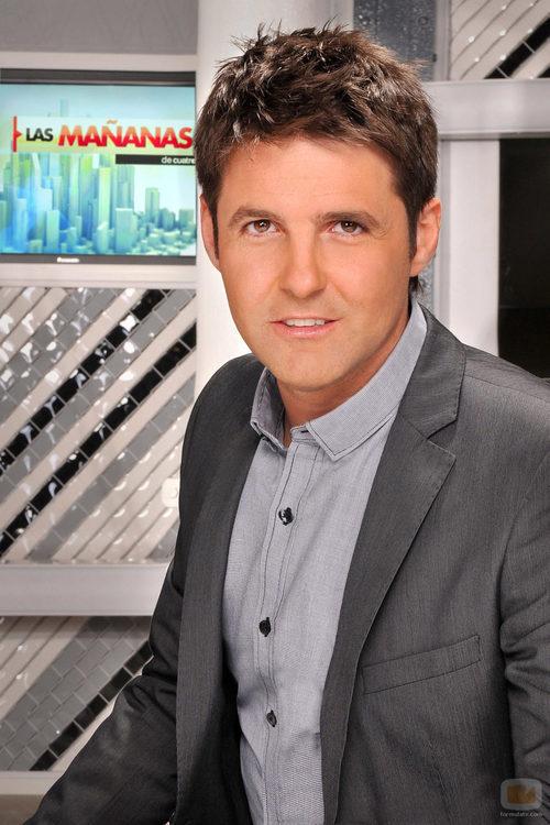 Jesús Cintora, presentador de 'Las mañanas de Cuatro'